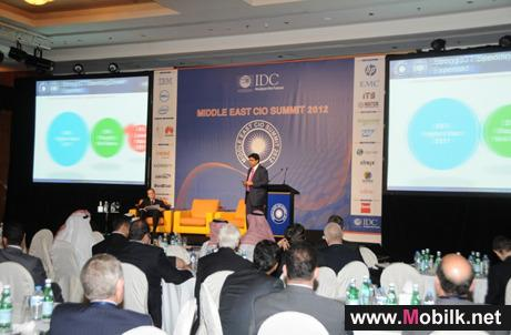 IDC Middle East CIO Summit 2012 outlines critical factors that influence enterprise IT strategies