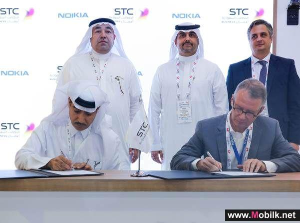STC, Nokia announce region-first LTE air-to-ground trial network at