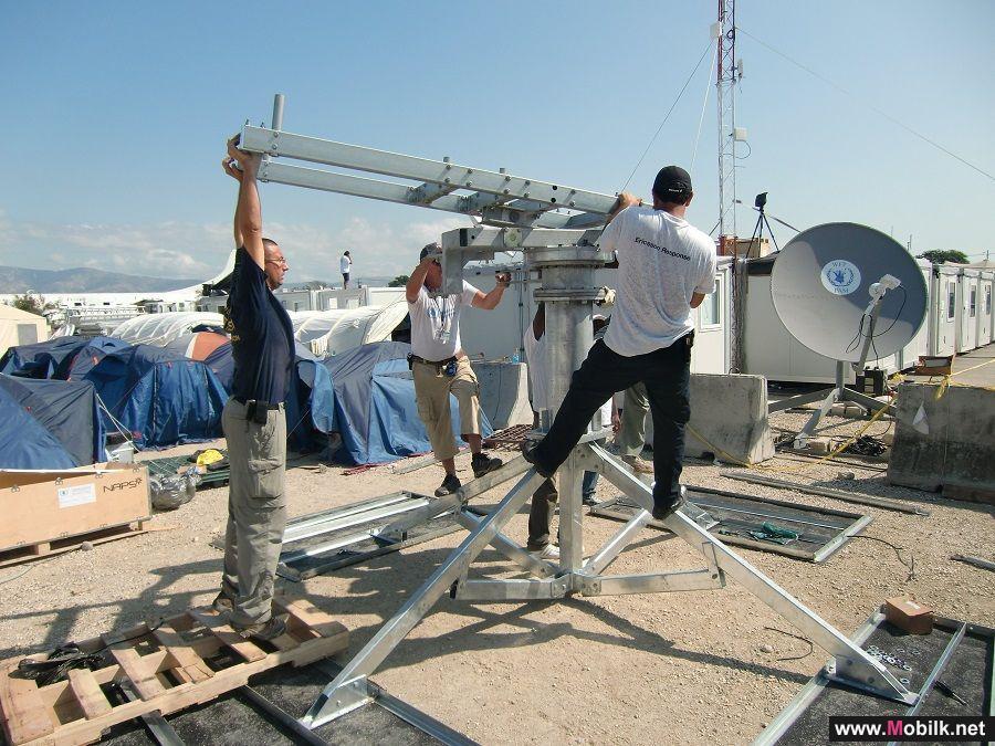 اريكسون تزود قوات الامم المتحدة لحفظ السلام بخدمات اتصال للمهام الاستثنائية