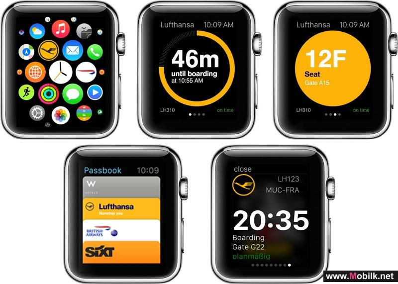 Lufthansa now also on the Apple Watch