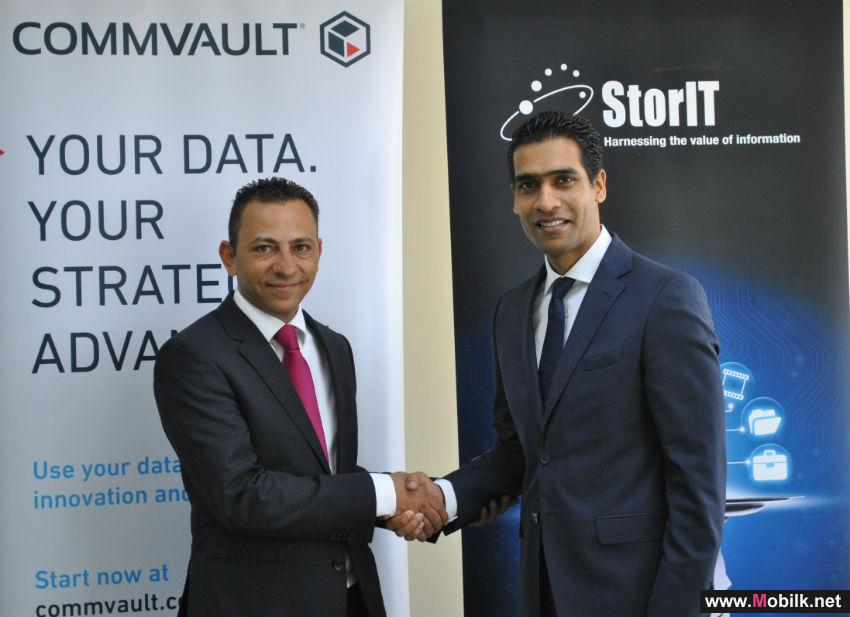 StorIT and Commvault Sign Distribution Agreement For The Middle East Region
