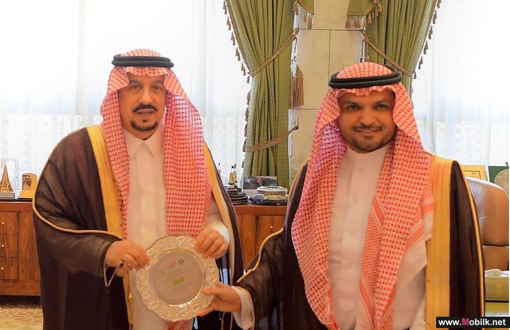 سمو أمير منطقة الرياض يكرم