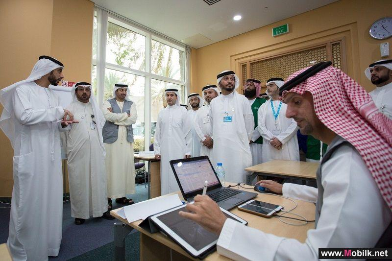 تحت إشراف الهيئة العامة لتنظيم قطاع الاتصالات وبالشراكة  مع