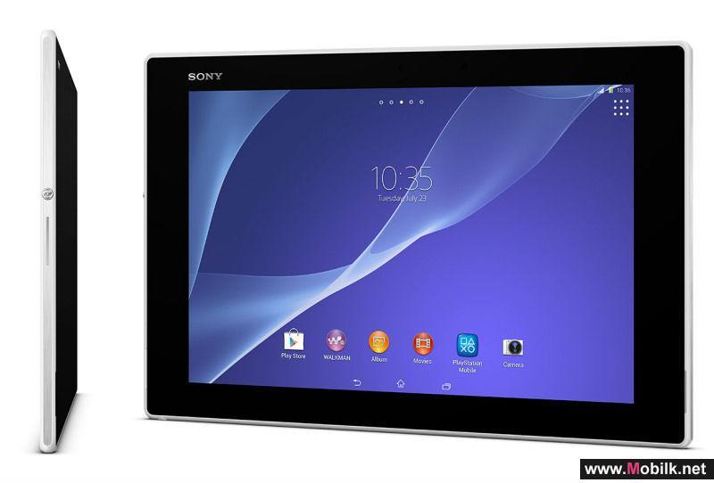 سوني تكشف عن الحاسب اللوحي Xperia Z2 Tablet