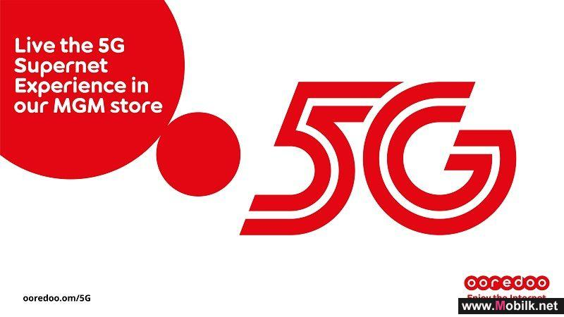 Ooredoo Launches 5G Experience Demos