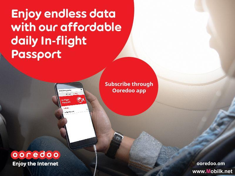 Ooredoo Takes to the Skies with In Flight Passport
