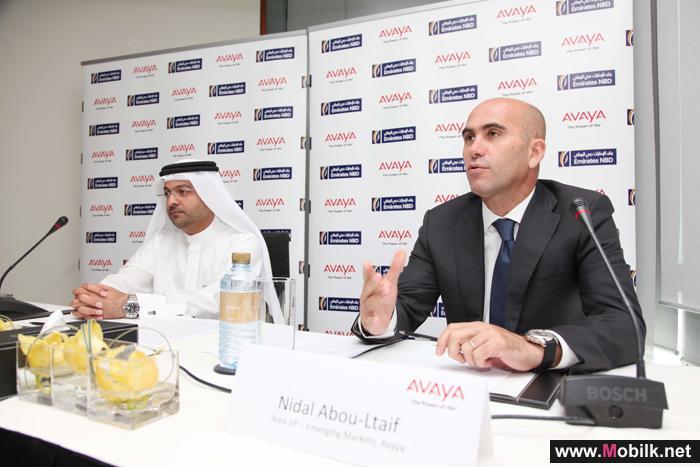 بنك الإمارات دبي الوطني يختار حلول الشبكات والاتصالات الموحدة ومراكز الاتصال من أفايا