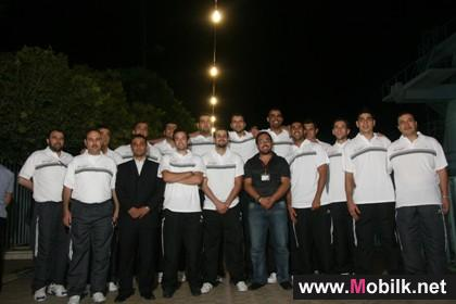 Syriatel meets Syria first national team before its trip to Turkey