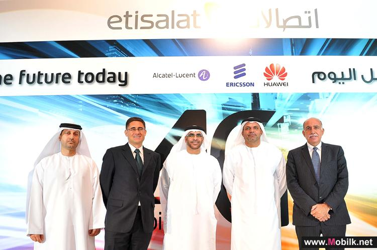 اتصالات تطلق شبكة الجيل الرابعLTE  لشبكة الموبايل رسمياً في الإمارات العربية المتحدة