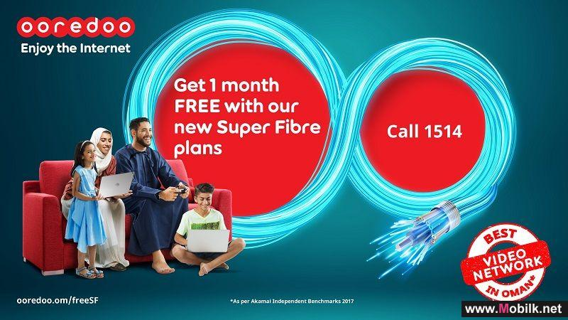 Ooredoo Offers 'Super Fibre' with Complimentary Router and One Month Free Subscription