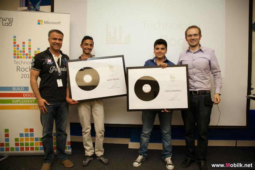 Microsoft Jordan Announces Winners of Second 'Technology Rocks!' Student Competition