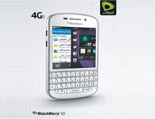 جهاز بلاكبيري Q10 متوفر الآن باللون الأبيض  في  جميع مراكز أعمال اتصالات