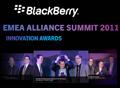 RIM ANNOUNCES WINNERS OF THE BLACKBERRY EMEA INNOVATION AWARDS 2011