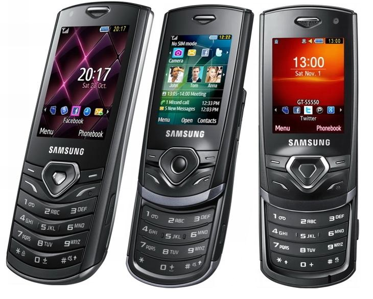Samsung Shark series introduced three mobile