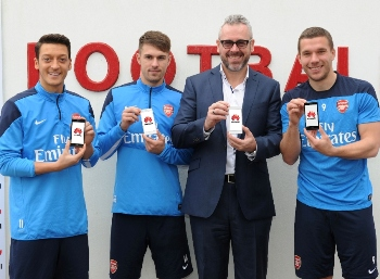 Huawei and Arsenal announce global partnership