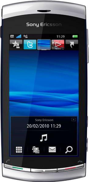 Sony Ericsson: XPERIA and Vivaz go pro