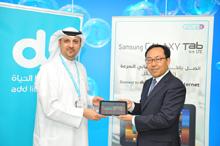 دو تطرح جهاز (سامسونغ غالاكسي تاب 8.9 إل تي إي) حصريا في الإمارات