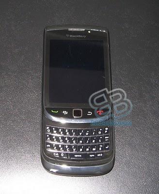 BlackBerry Slider leaks again