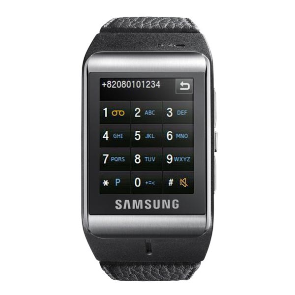 Samsung launches watchphone