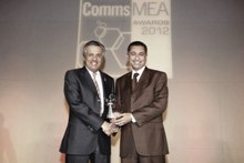 """Huawei Recognized as """"Middle East Vendor of the Year"""" at CommsMEA Awards 2012"""
