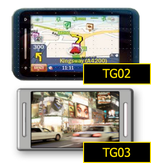 Toshiba TG02 and TG03 featured are now on larger pics, look like TG01