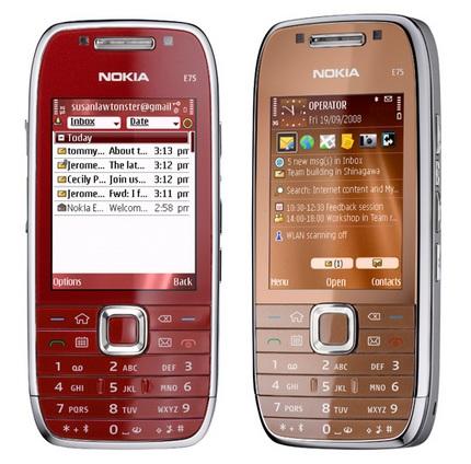 Nokia E75 enters UK stores