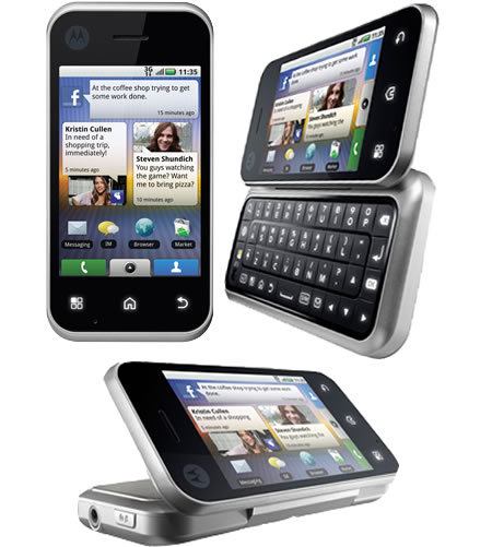 Motorola BACKFLIP brings Android to AT&T