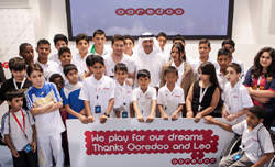 Ooredoo and Messi Team Up for Children's Health