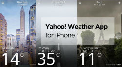 "تطبيق ""Yahoo Weather"" يصل إلى ""آيباد"""