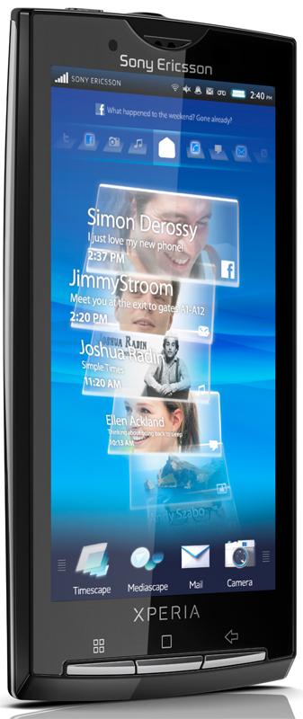 Sony Ericsson XPERIA X10 passes FCC test again