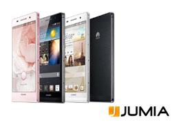 موقع جوميا يبيع هاتف Ascend P6  الذكي حصرياً عبر الانترنت