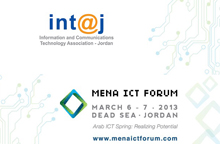 "In@tj and Endeavor Jordan to host ""Invest in ICT"" under the MENA ICT Forum 2013"