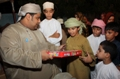 Nawras Goodwill Journey bring smiles to the faces of children in Al Kamel Wal Wafi, Bidiyah and Haima