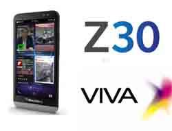 VIVA تطلق جهاز Z30 BlackBerry® في البحرين