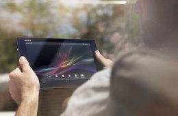 سوني تطلق الجهاز اللوحي Xperia™ Tablet Z الأنحف ضمن فئة 10 إنش في العالم