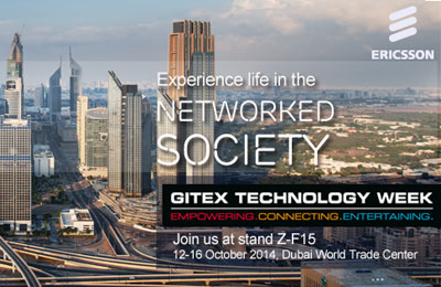 Ericsson showcases Life in the Networked Society at GITEX 2014