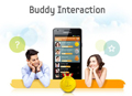 Stay in touch through Samsung ChatON, the fun and free messaging service