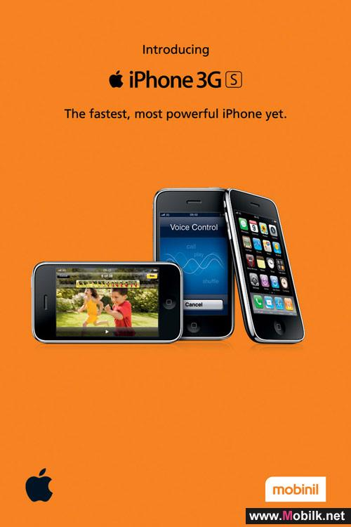 Mobinil Launches new Apple iPhone 3GS