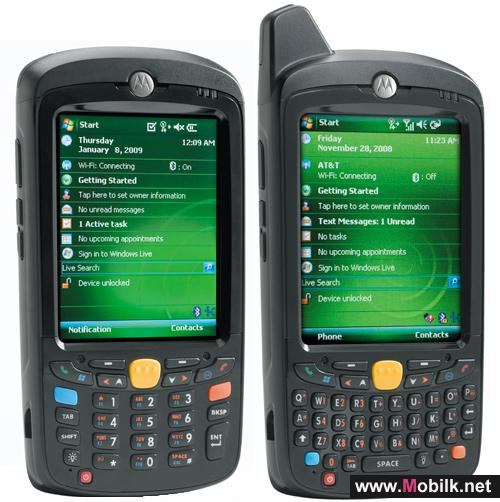 Motorola show the MC55 - the smallest of their digital assistants